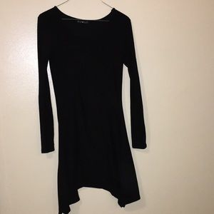 3 for $15 Black Derek Heart Longsleeve Dress